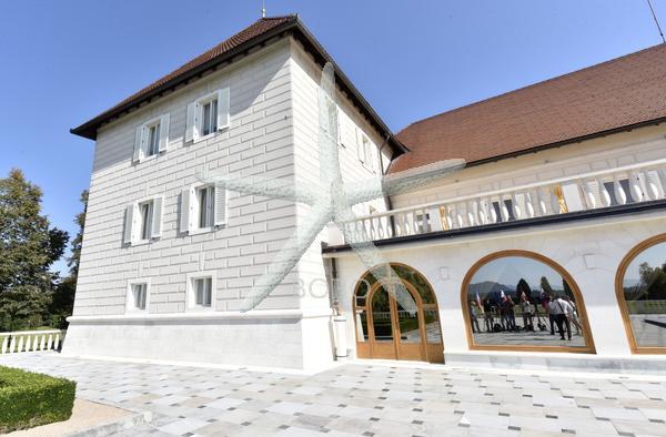 Slovenija, Brdo pri Kranju, 15.09.2020 15. september 2020  Protokolarni objekt Brdo pri Kranju. Arhitektura Foto: Žiga Živulovič jr./BOBO