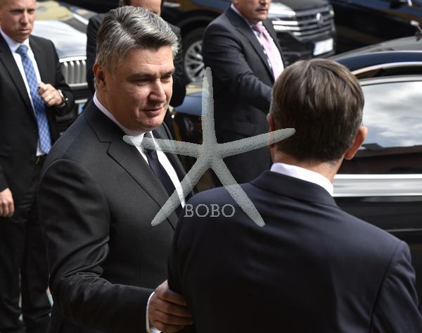 Slovenija, Ptuj 15.05.2020, 15. maj 2020  Srečanje Borut Pahor in Zoran Milanovič v MuziKafe. Slovenija Hrvaška Foto: Žiga  Živulović jr./BOBO